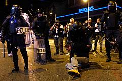 В Мадриде на акции протеста пострадали около 90 человек