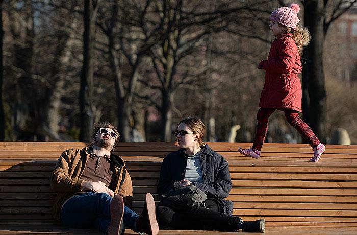 В Москве побит очередной температурный рекорд