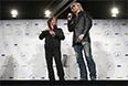 """Джон Оутс и его коллега Даррел Халл, группа """"Hall and Oates"""" так же официально вписаны в историю рока."""