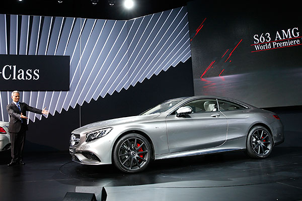 Mercedes S63 AMG Coupe.