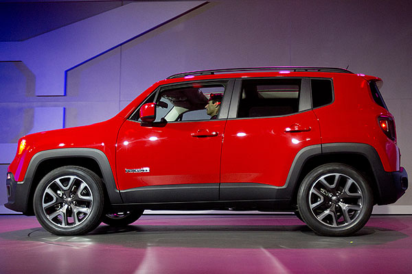 Новый Jeep Renegade.