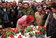 Похороны ополченцев, погибших на блок-посту в пасхальную ночь.