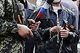 Вооруженные люди в центре Одессы. Цепи тоже шли в ход