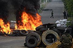 Ополченцы Славянска сбили два военных вертолета
