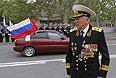Ветеран и участник парада в Севастополе.