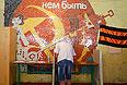 Обстановка на одном из избирательных участков Донецка.
