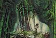 """""""Властелин колец"""". Акрил, бумага, дерево. 1976 год."""
