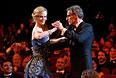 Ламбер Вильсон танцует с Николь Кидман во время церемонии открытия 67-го кинофестиваля в Каннах.
