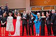Жюри 67-го Каннского кинофестиваля на красной ковровой дорожке.