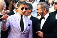 """Сильвестр Сталлоне и Мел Гибсон представили в Каннах фильм """"Неудержимые 3""""."""