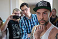 Польская металл-группа Begemoth, задержанная вчера в Екатеринбурге за нарушение миграционного законодательства.
