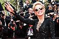 """Шарон Стоун на премьере фильма """"Поиск"""" Мишеля Хазанавичуса."""