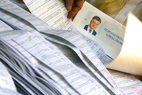 За Петра Порошенко на выборах президента страны проголосовали более 50% избирателей, его главного конкурента Юлию Тимошенко поддержали чуть более 13%.