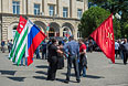 Волнения в Абхазии