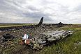 Место падения самолета Ил-76.