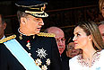 Король Испании Филипп VI и королева Летиция.