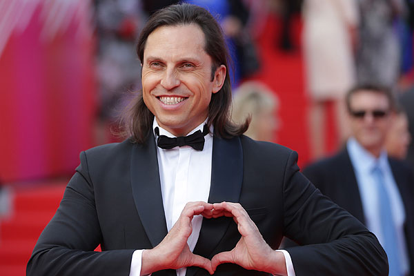 Актер, шоумен Александр Ревва во время церемонии открытия 36-го Московского международного кинофестиваля.