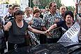 Жители Донецка в ожидании итогов переговоров.