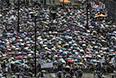 По оценкам организаторов демонстрации, в ней приняли участие полмиллиона человек. Таким образом, это была одна из самых массовых акций протеста с 1997 года, то есть со времен передачи Гонконга Китаю. По оценкам полиции, однако, в акции приняли участие около ста тысяч человек.