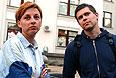 """После освобождения журналистов в твиттере """"Громадське ТВ"""" появилось сообщение: """"Мы благодарим всех, кто помог в освобождении наших журналистов""""."""