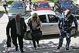 Бывшая глава Департамента имущественных отношений Минобороны РФ Евгения Васильева, обвиняемая в мошенничестве, и ее адвокат Хасан-али Бороков.