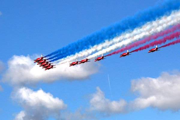 "���������� ������ ������������ ��� �������������� ��� ��������� ""Red Arrows"" (������� ������)."
