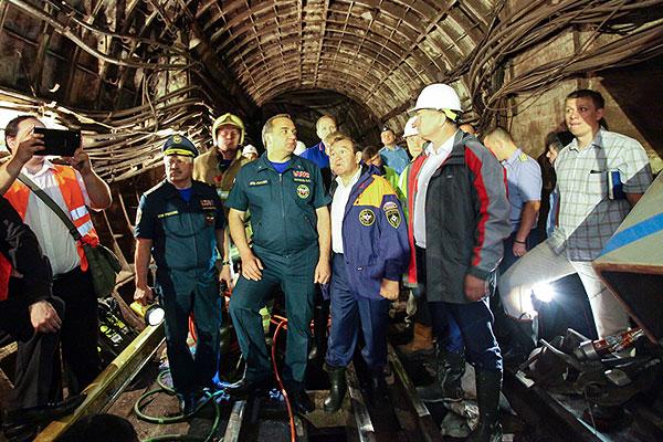 авария в московском метро фото