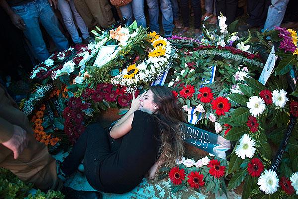 Похороны израильского солдата.