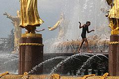 Москвичам обещают аномальную жару на следующей неделе