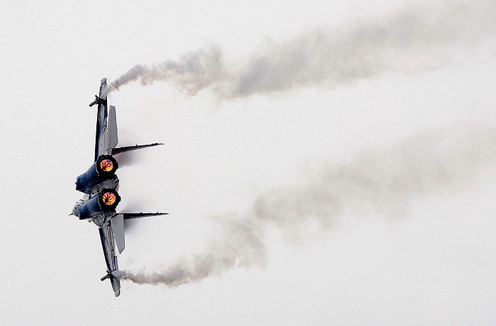 Под Астраханью разбился МиГ-29