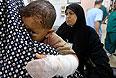 В больнице на юге сектора Газа.