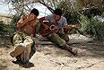 Отдых израильских солдат.