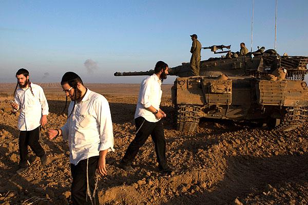 Блокпост израильской армии.