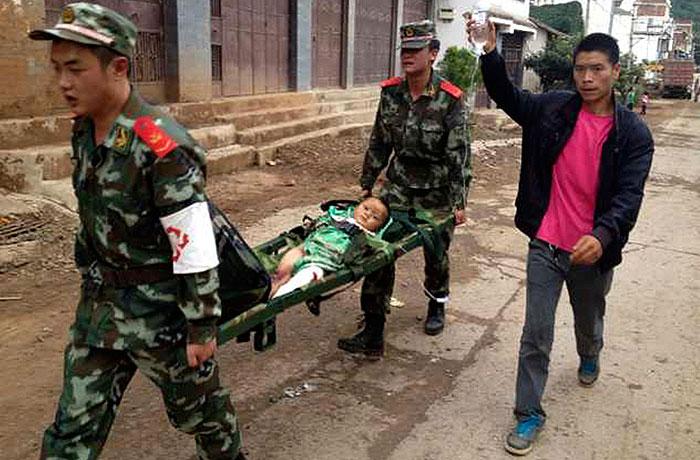 Землетрясение в Китае унесло жизни более полутора сотен человек