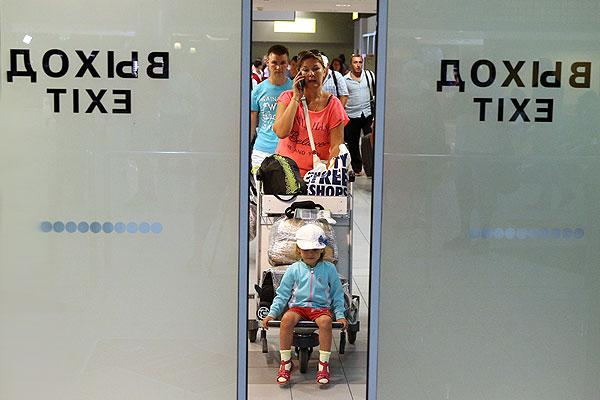 """Клиенты турфирмы """"Лабиринт"""", отдыхавшие в Греции, вернулись в Москву."""
