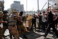 """Члены """"Самообороны Майдана"""" отказались добровольно убирать палатки."""