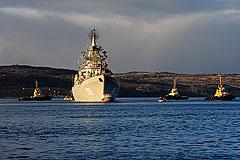 Северный флот выдворил из приграничных вод американскую АПЛ
