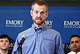 Врач из США Кент Брантли, который заразился вирусом Эбола в Либерии, окончательно поправился и рассказал об этом на пресс-конференции в Атланте.