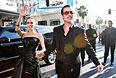 """Брэд Питт и Анджелина Джоли на премьере """"Малефисенты"""" в Голливуде. Май 2014"""