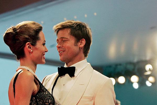 Питт и Джоли на 64-ом Венецианском кинофестивале. Сентябрь 2008