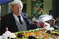 Донатас Банионис на своем юбилейном вечере в Петербурге, 2004 год.