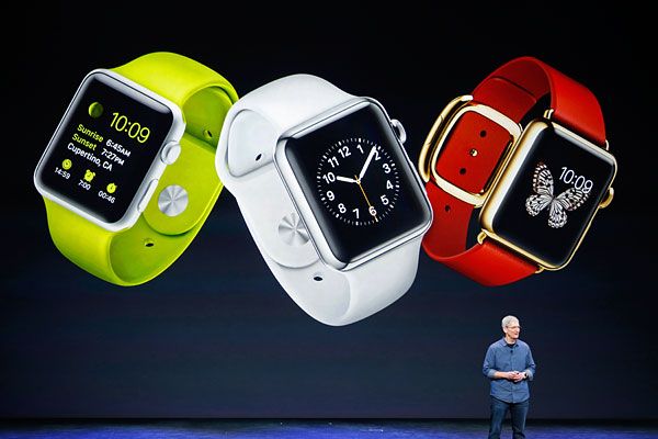 Презентация Apple Watch.