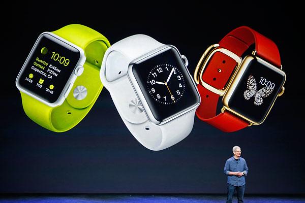 Презентация Apple Watch.