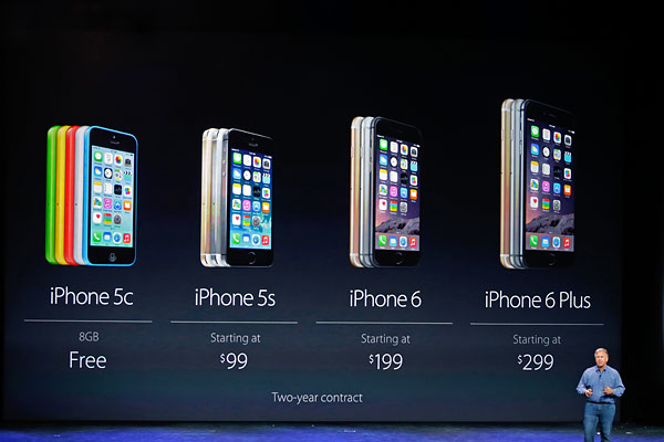 Apple представила iPhone 6, iPhone 6 Plus и Apple Watch