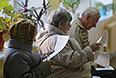 Во время голосования в Кирове.