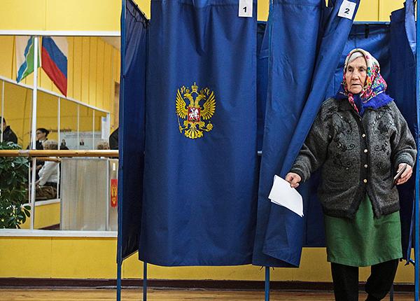 Избирательный участок Новосибирска.