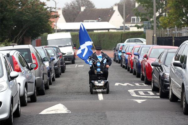 Еще один сторонник независимости Шотландии.