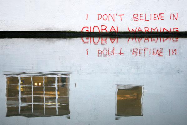 """""""Я не верю в глобальное потепление!"""", Копенгаген."""