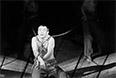 """Спектакль """"Пугачев"""" по одноименной поэме Сергея Есенина на сцене Театра на Таганке (постановка Юрия Любимова). В главной роли - Николай Губенко. 1968 год."""