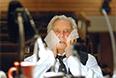 """Юрий Любимов перед началом репетиции спектакля """"Горе от ума"""" в день своего 90-летия, 2007 год."""